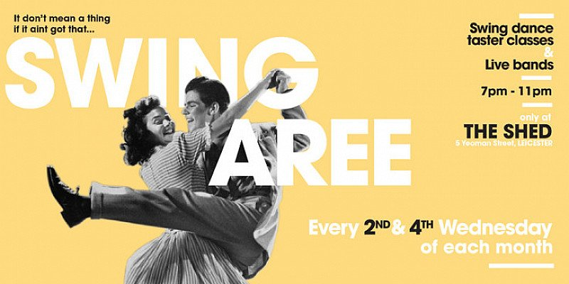 Swingaree: 14th March ft. DMU Jazz Band | Live Music & Swing Dancing