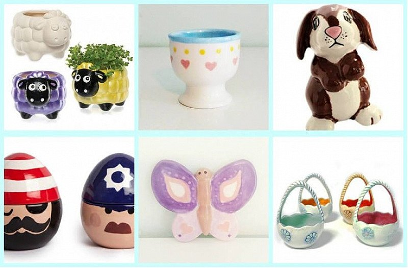 Polkadot Pottery: Easter Treasures Pottery Painting