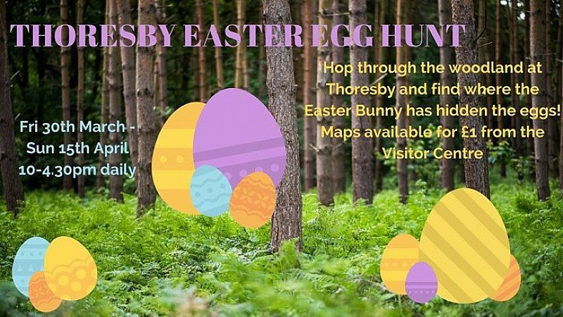 Thoresby Easter Egg Hunt