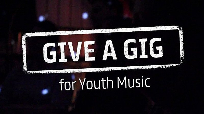 Give a Gig Charity fundraising show