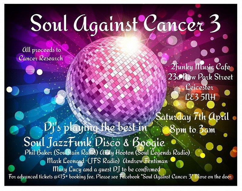 SOUL AGAINST CANCER 3 (SAC3)