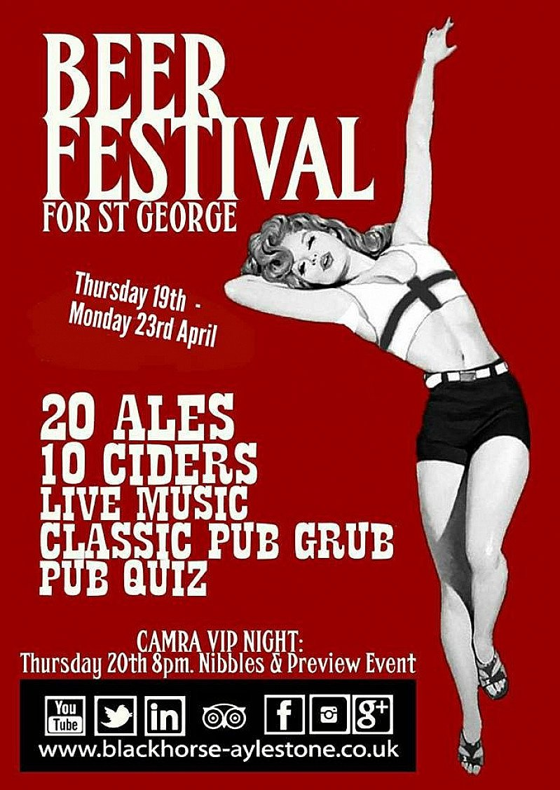 Beer Festival for St George
