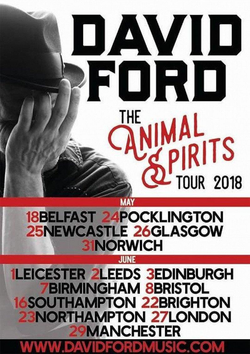 David Ford The Animal Spirits Tour