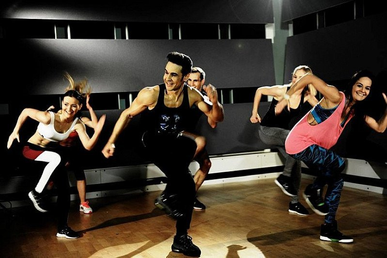 WHAT TIME IS IT?  CHICO TIME! Chico will be here teaching his very own fitness class 'BLOCK FIT'