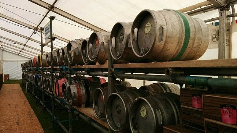 The Colchester and East Essex Cricket Club Beer and Cider Festival