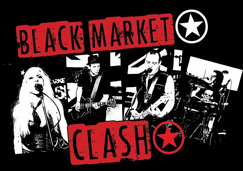 Black Market Clash - A tribute to The Clash at Firebug.
