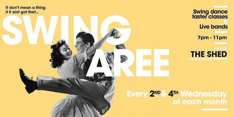 Swingaree: 9th May, Swing Dance Class & Social Dancing