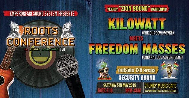 Kilowatt MTS Freedom Masses 2018 yearly Zion Bound Gathering