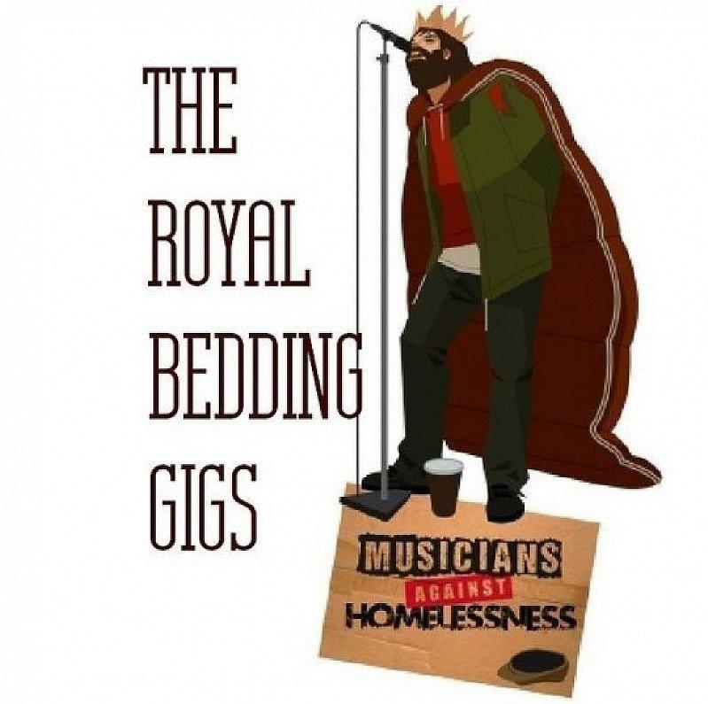 Music against Homeless all day gig