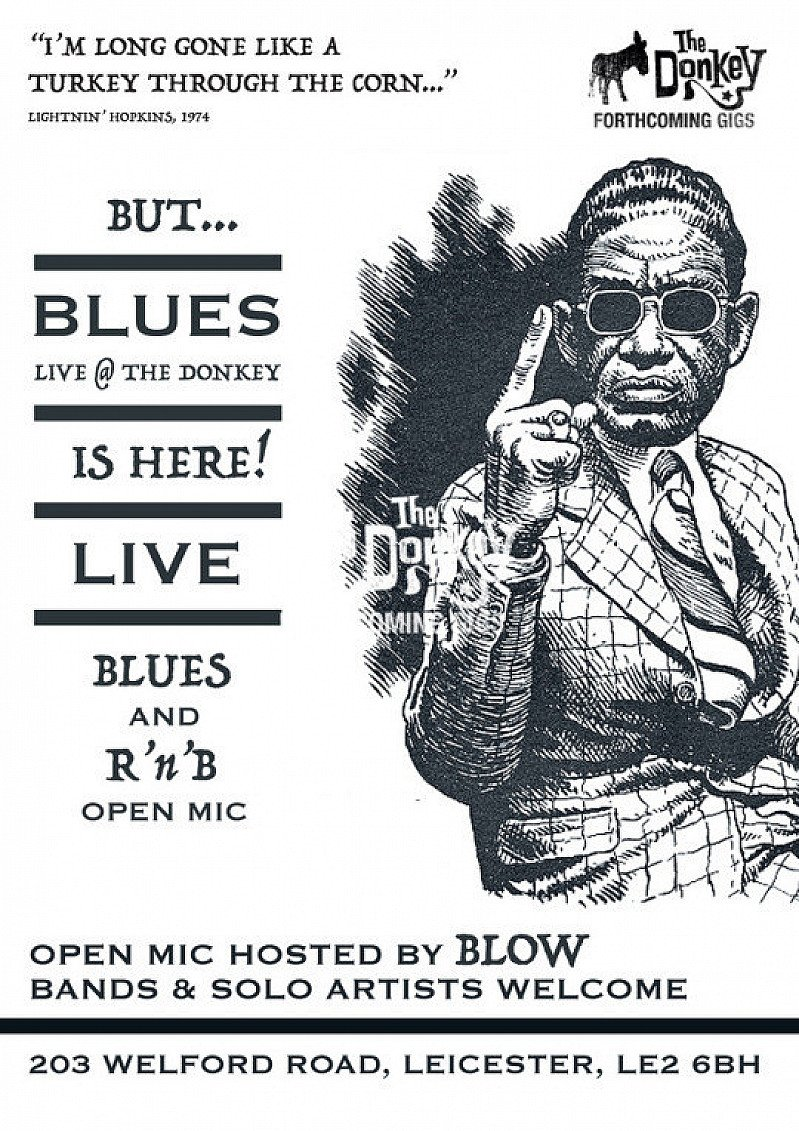 Blues and R&B Open Mic