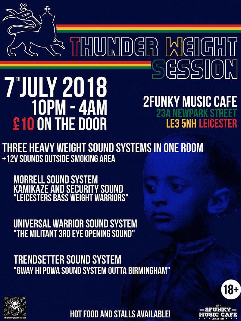 Thunder Weight Session Morrell, Universal, Trendsetter