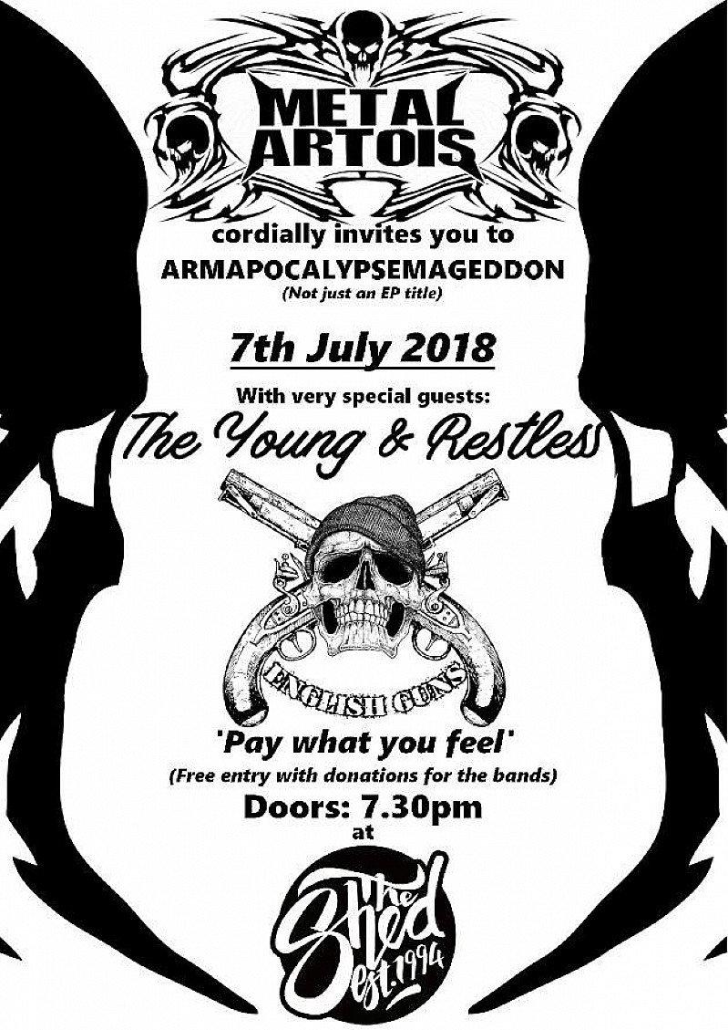 Metal Artois - Armapocalypsemageddon release party!