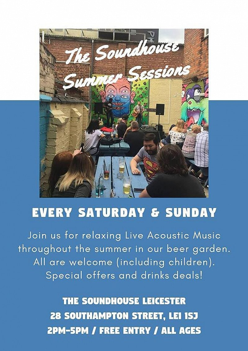Soundhouse Summer Sessions - July 22nd.