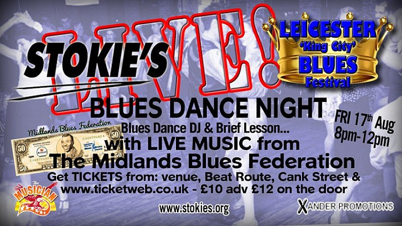 Stokies Blues Dance Night