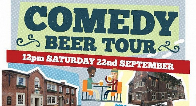 Comedy Beer Tour - Everards