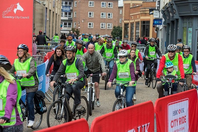 We're closing the roads to traffic in Leicester on Sunday and hosting a street festival for cyclists