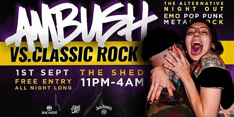 AMBUSH VS CLASSIC ROCK