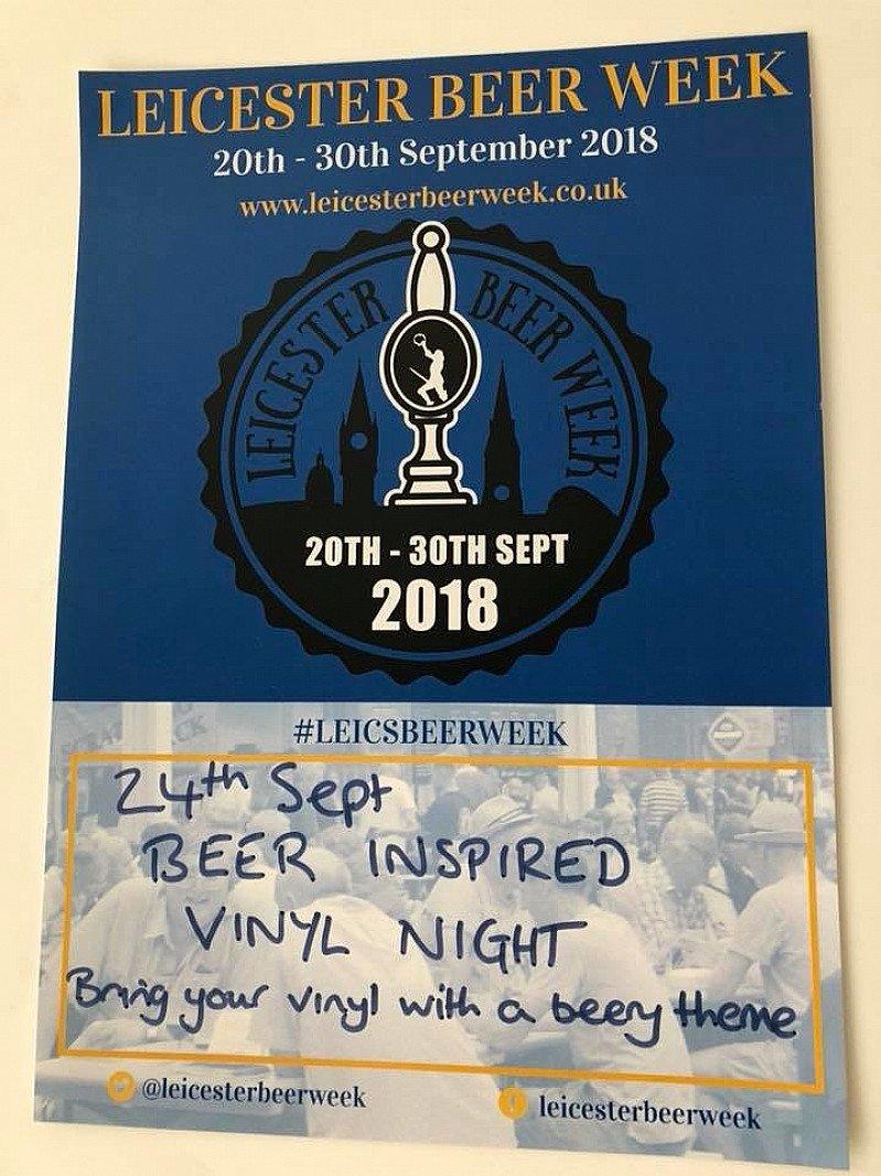 Beer inspired vinyl night - Broood
