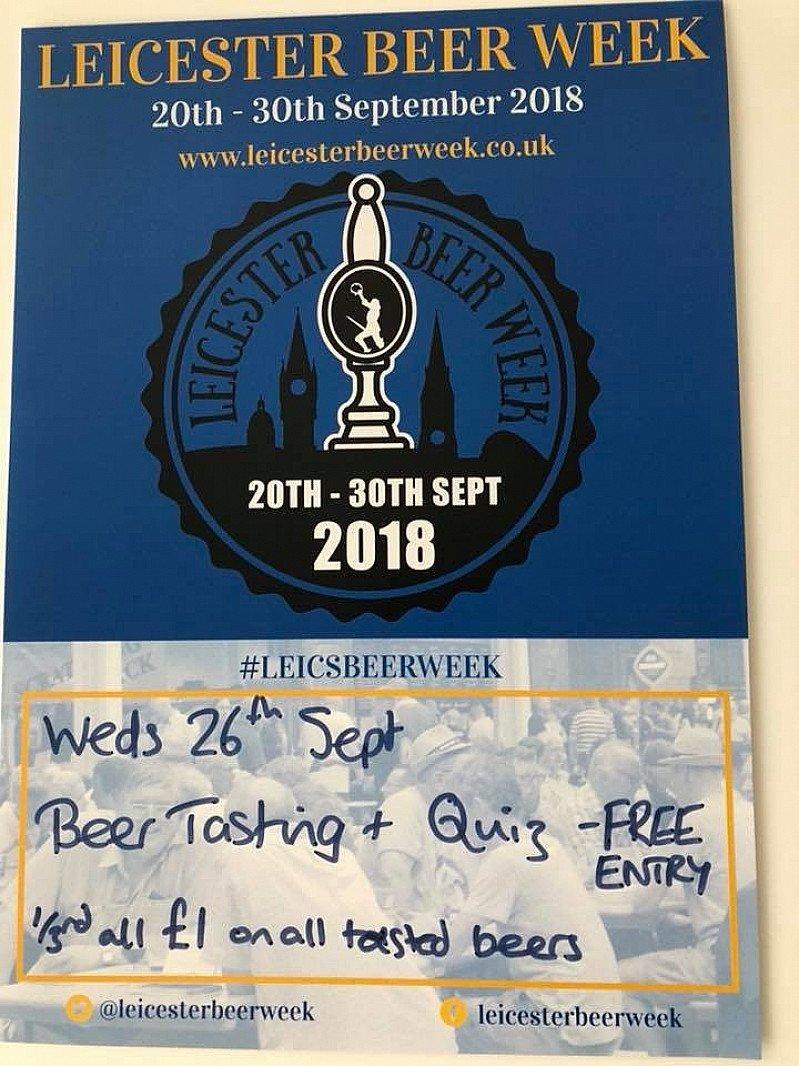 Beer tasting and beery quiz - Brood