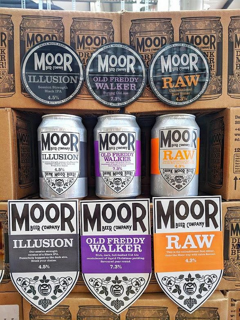 Cask Vs. Keg Vs. Can tasting with Moor Brewery (Meet The Brewer) - Two-Tailed Lion