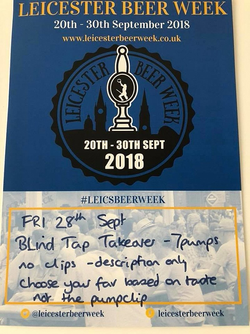 Blind Beer Tap Takeover - Broood