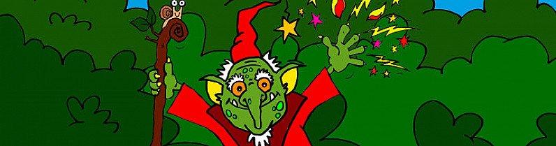 Spark the Goblin Wizard
