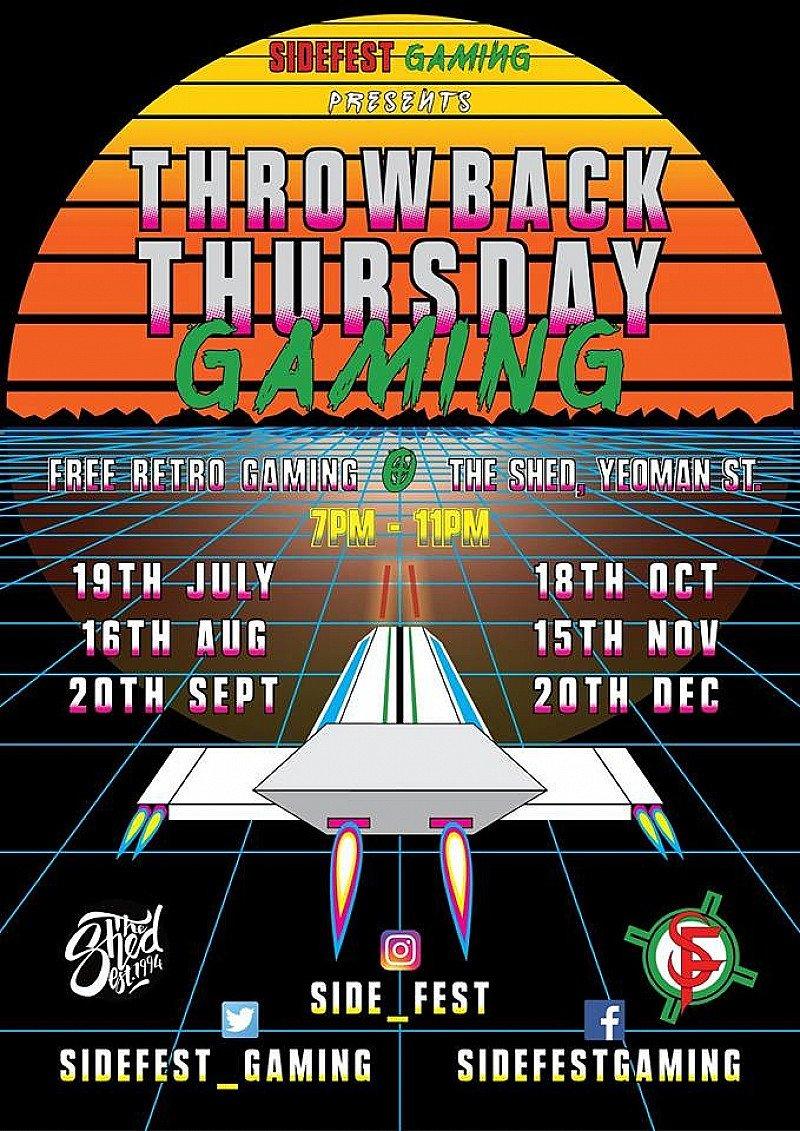 Throwback Thursday Gaming