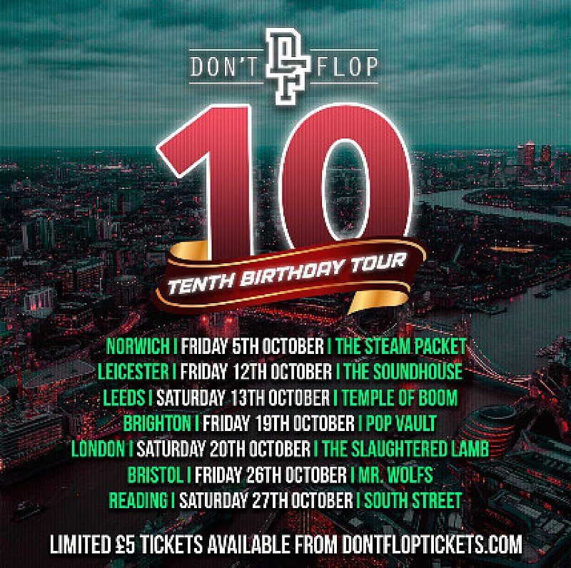 Don't Flop! Tenth Birthday Tour