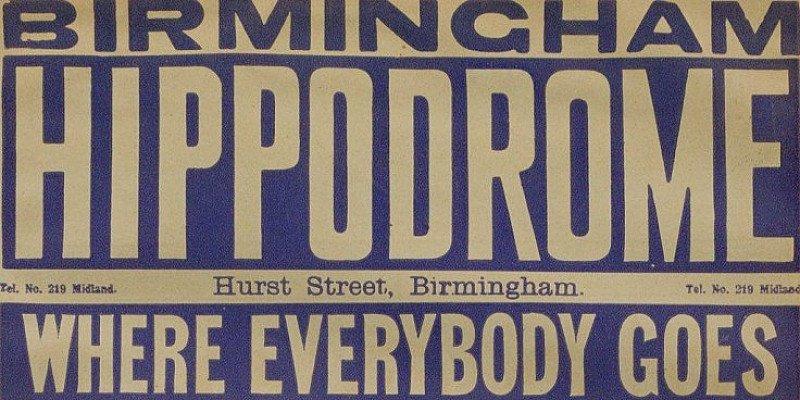 The Hippodrome during WWI Talk