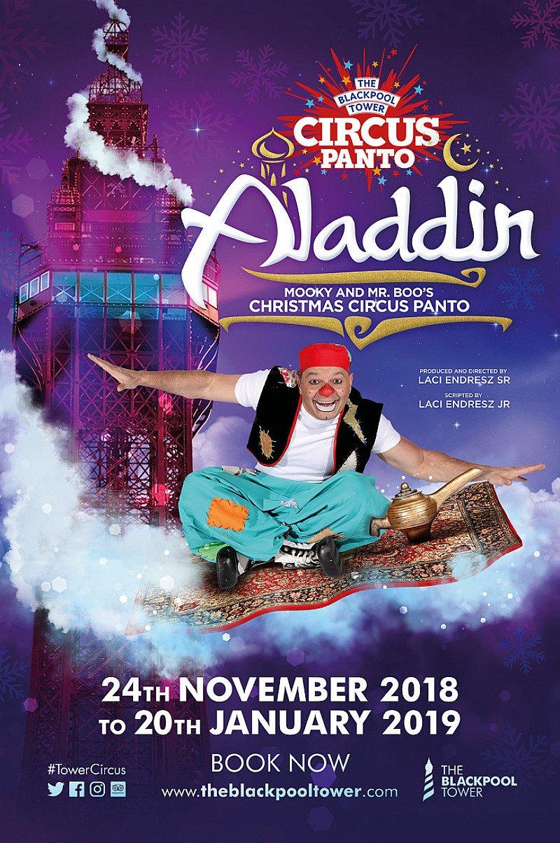 Aladdin Circus Pantomime