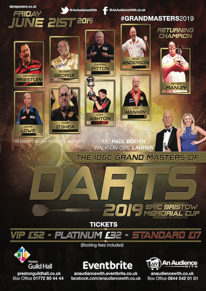 The Grand Masters of Darts 2019
