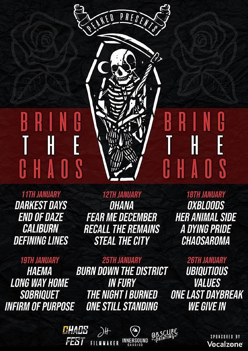 Peaked Presents: Bring The Chaos HEAT 5