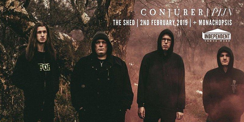IVW: CONJURER/PIJN/MONACHOPSIS | THE SHED | 02.02