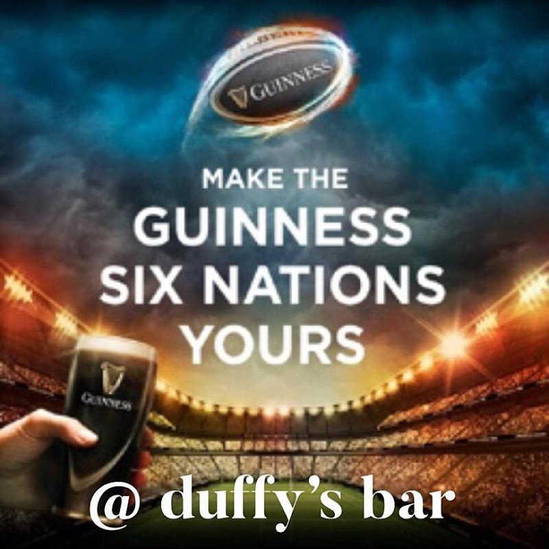 6 Nations 2019 @ Duffys