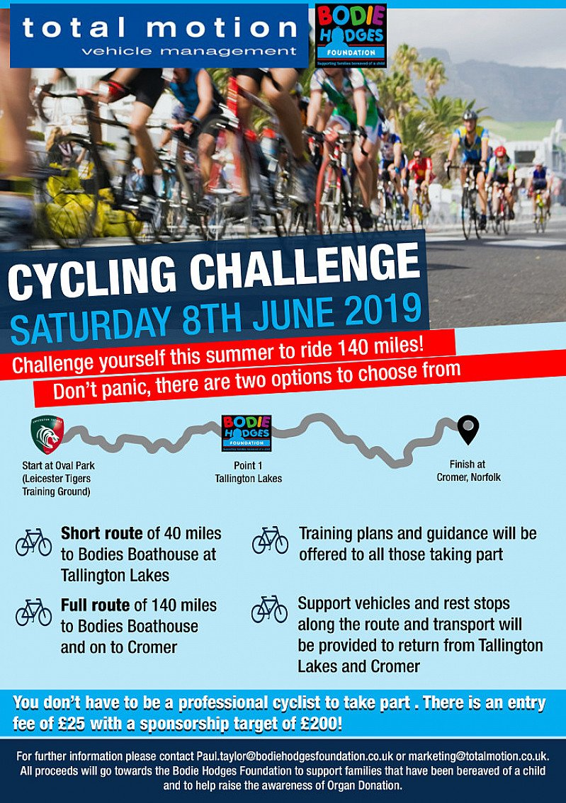 Total Motion Cycling Challenge
