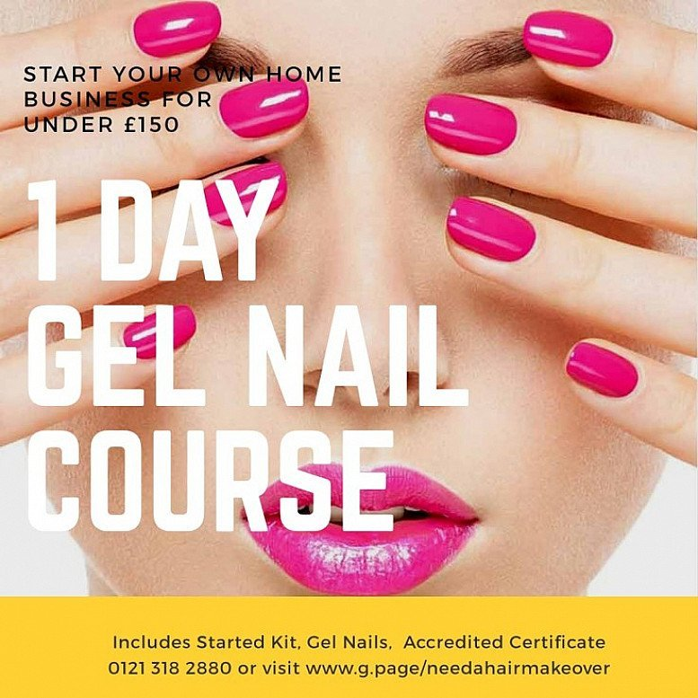 Gel nails 1 day Course for Beginners Start your own business