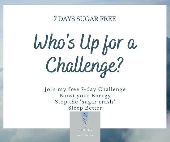 Free 7 Day Sugar Free Challenge