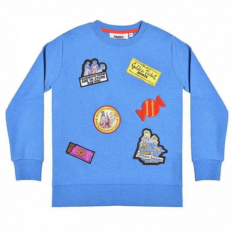 Roald Dahl Day - Charlie and the Chocolate Factory Children's Sweatshirt - £15.00