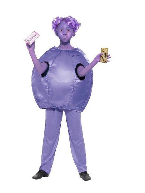 Roald Dahl Day - Children's Roald Dahl Deluxe Violet Beauregarde Costume - £24.99