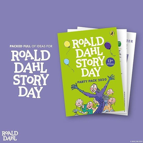 Roald Dahl Story Day Party Pack!