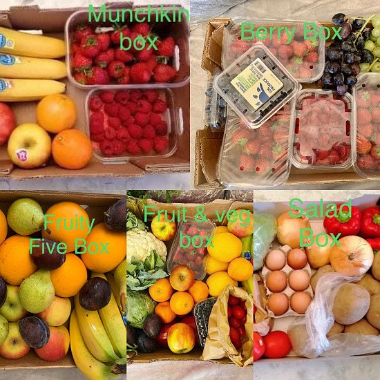 Fruit and veg delivered to your door ‼️ from Fruity Drop FREE local delivery