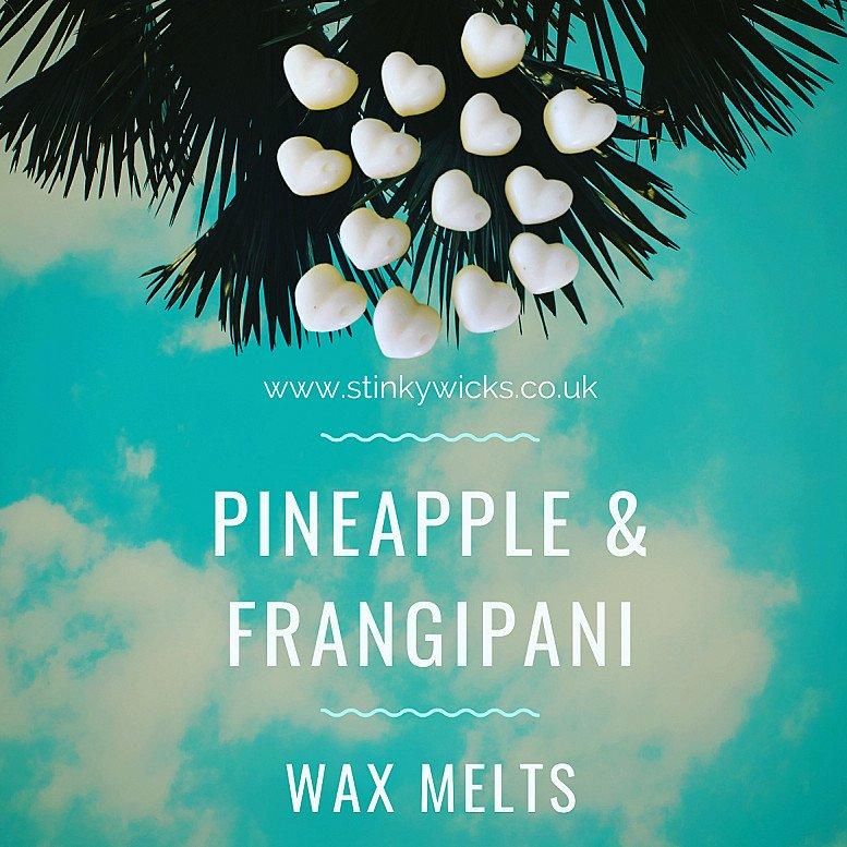 Our beautiful Pineapple & Frangipani wax melts🍍