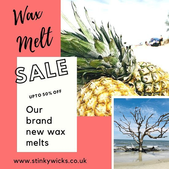 🔥Our wax melts now half price get yours now🔥