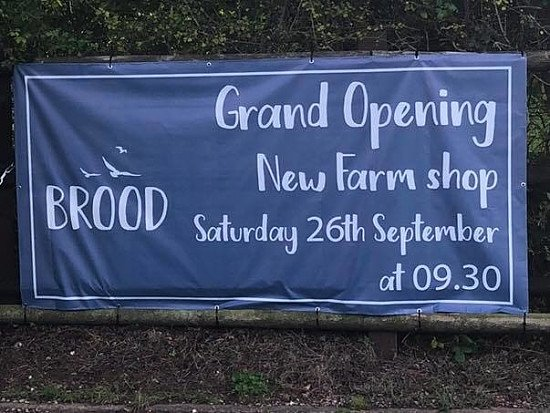 We have some exciting news for you all... Broods Grand Opening date is on 26th September!