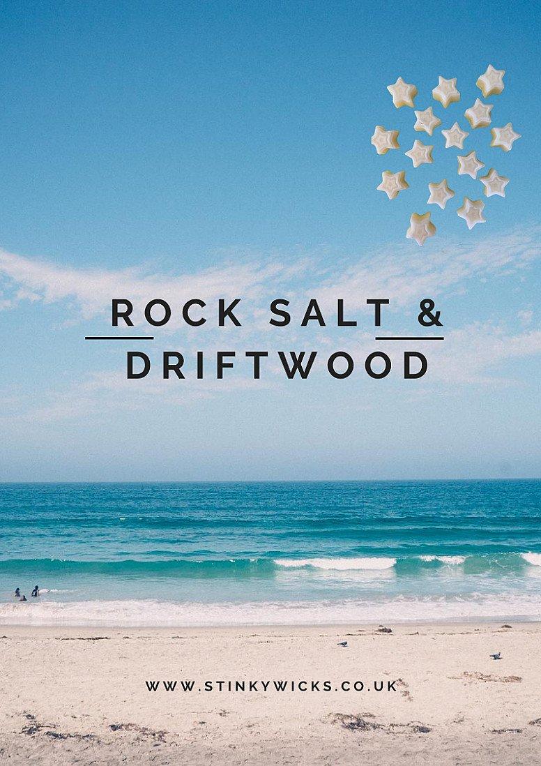 WIN our stunning Rock Salt & Driftwood wax melts