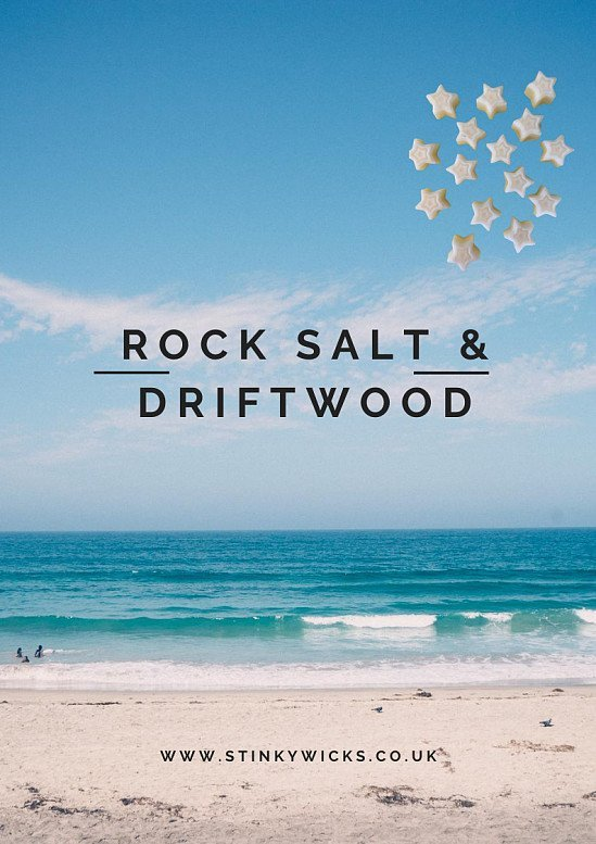 WIN our Rock Salt & Driftwood wax melts