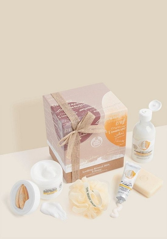 GIFT SETS - Soothing Almond Milk & Honey Pampering Essentials: £21.00!