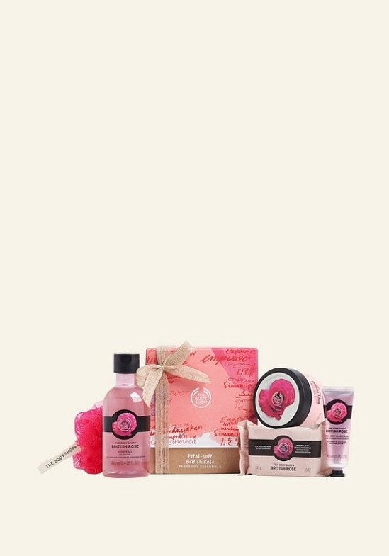 GIFT SETS - Petal Soft British Rose Pampering Essentials: £21.00!