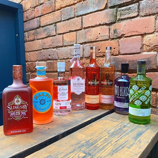Fresh in this week, new flavoured gins!