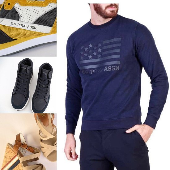 SAVE UP TO 70% ON 'U.S POLO ASSN' CLOTHING AND FOOTWEAR - prices start at £15.99